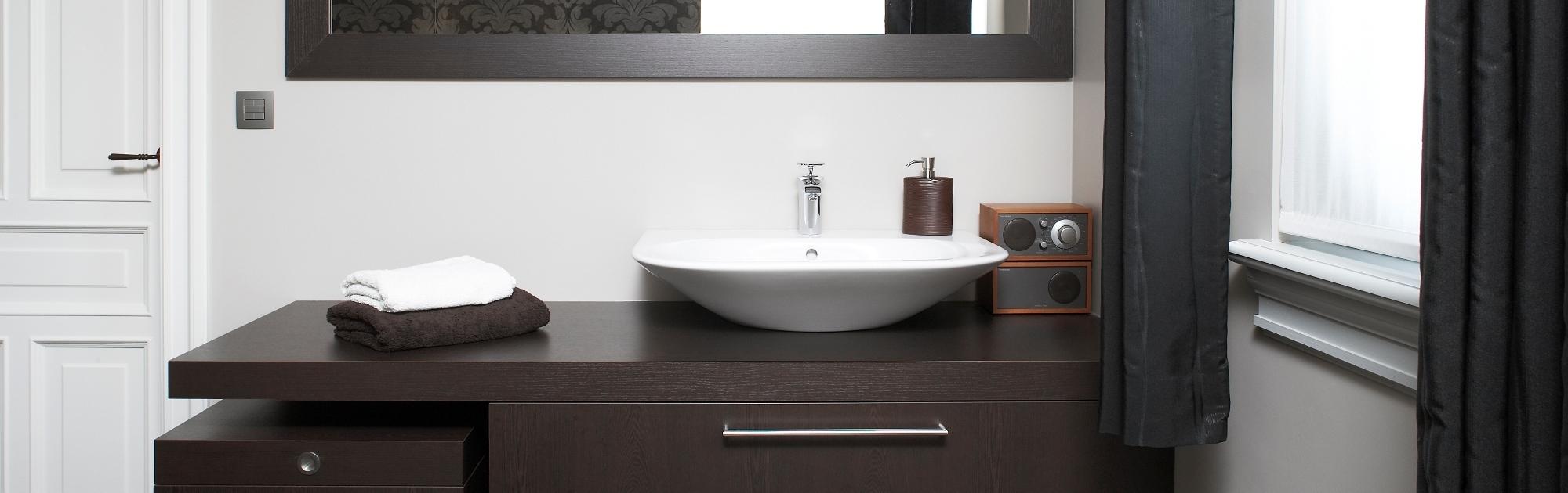 Badkamer - Badkamermeubel & kasten op maat in Geel | Elst Keukens